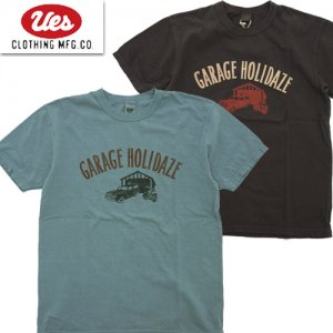 652104 「GARAGE HOLIDAZE」 プリントTシャツ