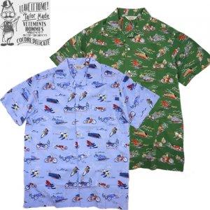 OR-5059 Aloha Shirt オープンカラーシャツ
