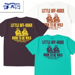 8042A「LITTLE OFF-RIDER」 USAコットン プリントTシャツ