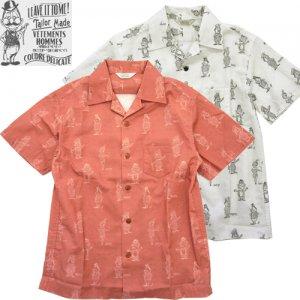 OR-5060 Open Collar Shirt オープンカラーシャツ