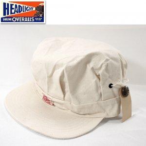 HD02677 HEAD LIGHT 9oz. WHITE BOAT SAIL DRILL WORK CAP