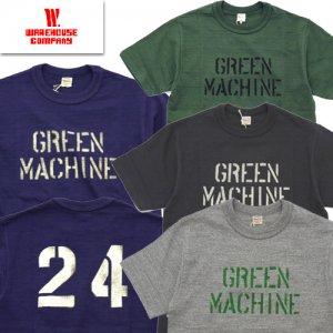 Lot4601 「GREEN MACHINE」 プリントTシャツ