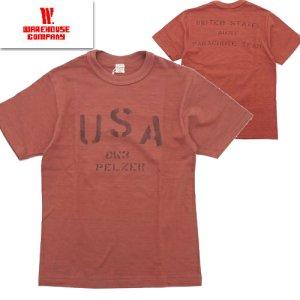 Lot4601 「USA」 プリントTシャツ