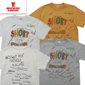 Lot4601 「SHORT」 プリントTシャツ