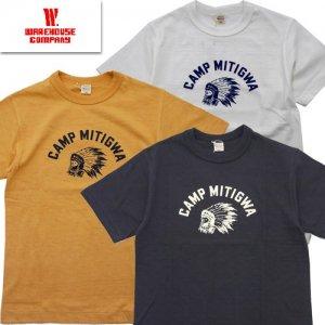 Lot4601 CAMP MITIGWA プリントTシャツ