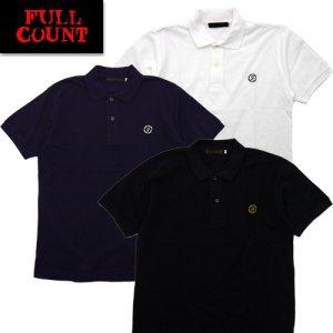 5014 6.0oz 鹿の子ポロ Circled F Polo Shirt
