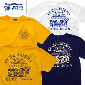 8041A 「LONELY JEANS」 USAコットン プリントTシャツ