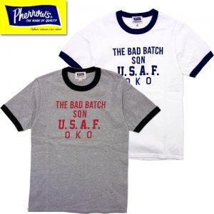 カタログ未掲載モデル 21S-PRT2 「U.S.A.F.A」 リンガーTシャツ