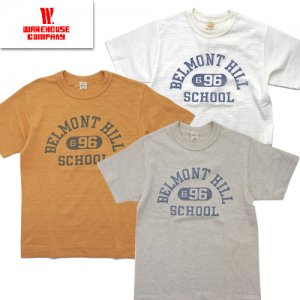 Lot4601「BELLMONT HILL」プリントTシャツ