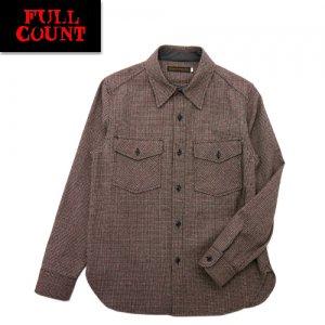 4059-1 ウールコットン CPOチェックシャツ
