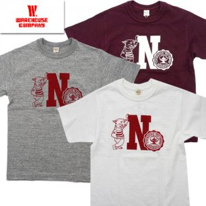 Lot4601「N」プリントTシャツ