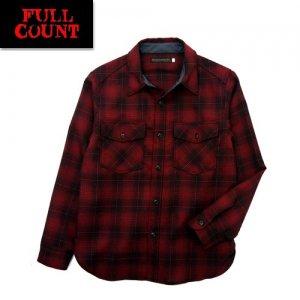 4059-2 オンブレチェックCPOシャツ
