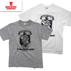 Lot4601「BOMBER BARONS」プリントTシャツ