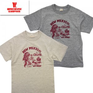 Lot4601「NEW MEXICO」プリントTシャツ
