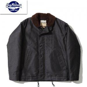 【予約9月下旬~10月頃入荷予定】BR14684 BLACK N-1 デッキジャケット
