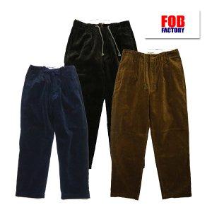 F0507 WIDE WALE CORDUROY PANTS