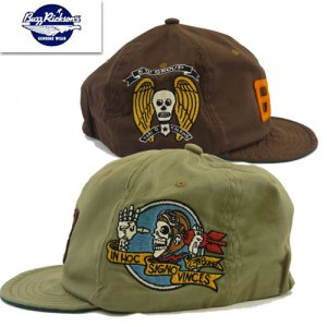 BR02690 SQUADRON EMBROIDERY CAP BOMBER BARONS