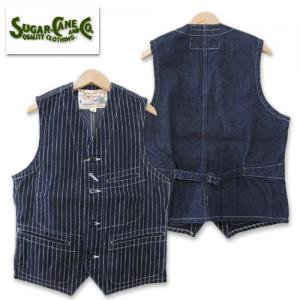 再入荷 SC12654 9oz WABASH STRIPE WORK VEST
