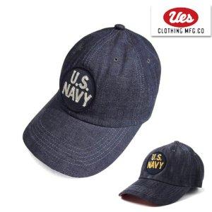 82DC U.S. NAVY デニムベースボールキャップ