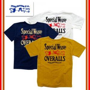 9915B 吊り編みプリントTシャツ